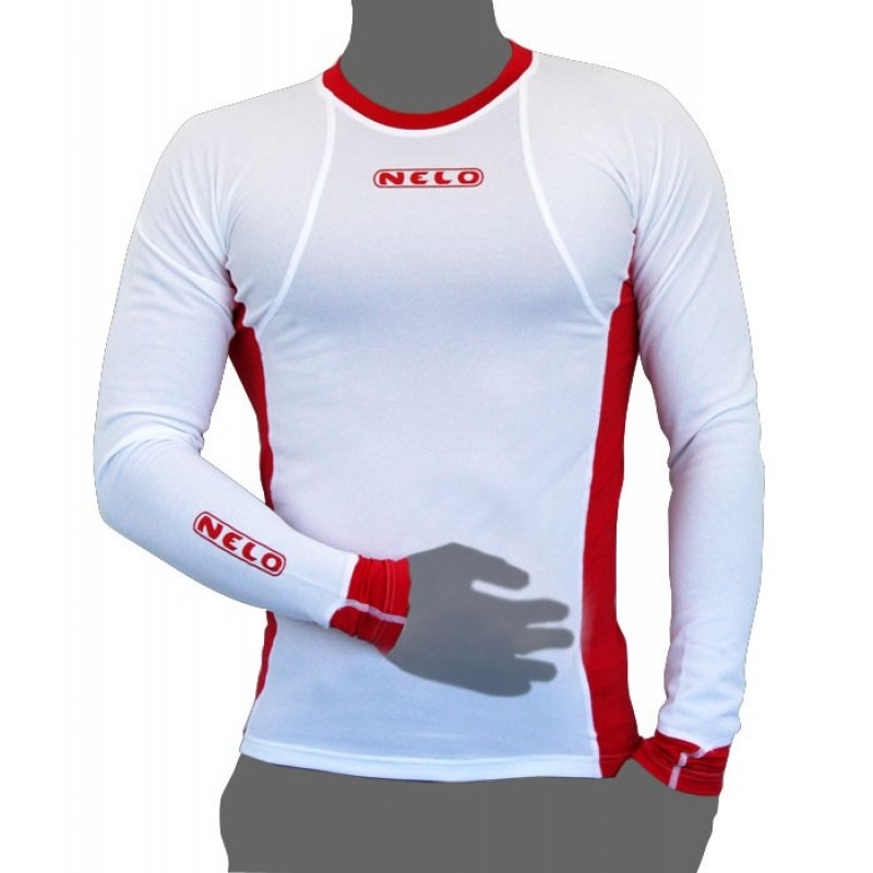 Nelo Long Sleeve Red
