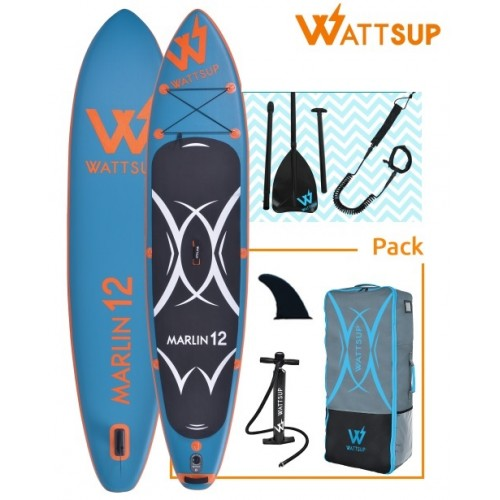 Wattsup Marlin 12΄ All In One Board SUP